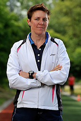 24-05-2011 ATLETIEK: TRAINING PAPENDAL: ARNHEM<br /> Grete Koens, Bondscoach talentontwikkeling<br /> ©2011-FotoHoogendoorn.nl