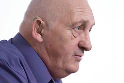 Portrait of a man looking sad,