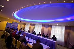 Meeting of OKS in Grand hotel Union, on March 23, 2009, Ljubljana, Slovenia. (Photo by Vid Ponikvar / Sportida)