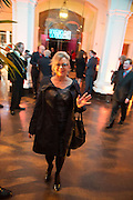 KAY SAATCHI, Gala Opening of RA Now. Royal Academy of Arts,  8 October 2012.