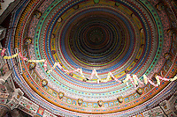 Colorful Dome Ceiling, Jaipur