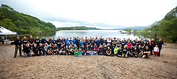 Group pic at Krav Island's Sunday session on Inchcailloch Island on Loch Lomond, near Balmaha. Krav Island is the IKMS annual event of two days intense Krav Maga training in and around Loch Lomond.