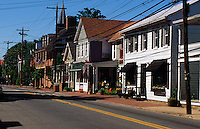 """St. Michaels, Maryland--St. Michaels is known as """"The Town that Fooled the British"""" because of a clever defense strategy during the War of 1812. Local legend has it that residents hung lanterns in trees beyond the town and dimmed their household lights tricking the British naval vessels into overshooting the town...In 2007 the town was named #8 of the Top Ten Romantic Escapes in the USA by Coastal Living Magazine."""