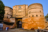 Inde, Etat de Gujarat, Ahmedabad, classé Patrimoine Mondial de l'UNESCO, fort de Bhadra // India, Gujarat, Ahmedabad, Unesco World Heritage city, Bhadra fort