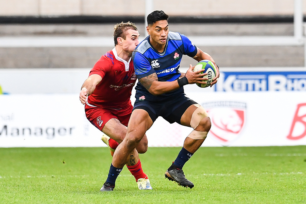 Timothy Lafaele of Japan in action <br /> <br /> Photographer Craig Thomas<br /> <br /> Japan v Russia<br /> <br /> World Copyright ©  2018 Replay images. All rights reserved. 15 Foundry Road, Risca, Newport, NP11 6AL - Tel: +44 (0) 7557115724 - craig@replayimages.co.uk - www.replayimages.co.uk