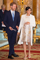 File photo dated 05/03/19 of the Duke and Duchess of Sussex, who are to have their own household to take forward their growing roles as senior members of the royal family.