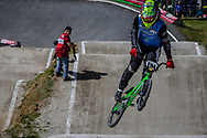 #194 (VILLEGAS Federico) ARG during round 4 of the 2017 UCI BMX  Supercross World Cup in Zolder, Belgium.