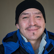Date: 2/6/15<br /> Desk: SCI<br /> Slug: SUPER UTILIZERS<br /> Assign Id: 30170556A<br /> <br /> Prugh Jose, 42, a homeless man who is a client of the Hennepin Health RESOURCE Chemical and Mental Health emergency department in reach program in Minneapolis (Hennepin County), Minnesota poses for a portrait as he arrives for a scheduled dental appointment at the Hennepin County Medical Center's Dental & Oral Surgery Clinic on February 6, 2015. <br /> <br /> Photo by Angela Jimenez for The New York Times <br /> photographer contact 917-586-0916
