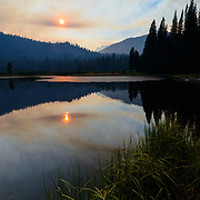 Wildfires are part of the ecology of the Sierra Nevada. If you are documenting the landscape, smoke is one of the essential elements of a complete portrait.