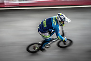#153 (CATENACCI Romain) FRA at Round 6 of the 2019 UCI BMX Supercross World Cup in Saint-Quentin-En-Yvelines, France