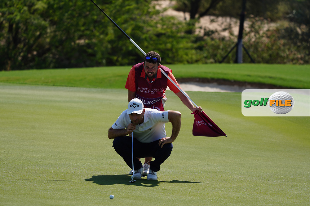 Oliver Wilson (ENG) on the 17th during Round 1 of the Commercial Bank Qatar Masters 2020 at the Education City Golf Club, Doha, Qatar . 05/03/2020<br /> Picture: Golffile | Thos Caffrey<br /> <br /> <br /> All photo usage must carry mandatory copyright credit (© Golffile | Thos Caffrey)