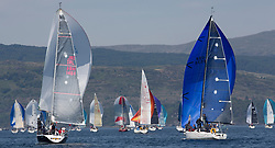 Silvers Marine Scottish Series 2017<br /> Tarbert Loch Fyne - Sailing<br /> <br /> IRL1484, Harmony, John Swan, Howth Yacht Club, Half Tonner, GBR8538R, Jack, Mr Peter Doig, East Antrim Boat Club, J92