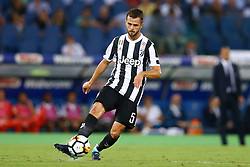 August 13, 2017 - Rome, Italy - Miralem Pjanic of Juventus  during the Italian Supercup match between Juventus and SS Lazio at Stadio Olimpico on August 13, 2017 in Rome, Italy. (Credit Image: © Matteo Ciambelli/NurPhoto via ZUMA Press)