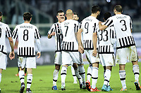 esultanza gol Simone Zaza Juventus Goal celebration <br /> Palermo 29-11-2015 Stadio La Favorita Football Calcio Serie A 2015/2016 Palermo-Juventus / foto Daniele Buffa/Image Sport/Insidefoto