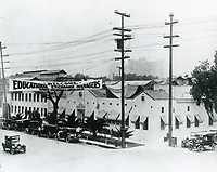 1928 Christie Studios on Sunset Blvd.