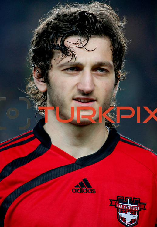 Gaziantepspor's Orhan Gulle during their Turkish superleague soccer match Fenerbahce between Gaziantepspor at the Sukru Saracaoglu stadium in Istanbul Turkey on Monday09 January 2011. Photo by TURKPIX