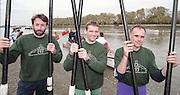 """Putney. London. GREAT BRITAIN;  left to right.  Peter HAINING. Niall O'TOOLE and Frans GOEBEL, <br /> <br /> 1995 Thames World Sculling Championships, Putney to Mortlake. Championship Course, River Thames.<br /> <br /> [Mandatory Credit; """"Photo, Peter Spurrier/Intersport-images]"""