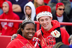 17 October 2009: Homecoming king and queen. The Indiana State Sycamores tumble to the Illinois State Redbirds 38-21 at Hancock Stadium on campus of Illinois State University in Normal Illinois
