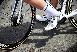 Trek Segafredo at Stage 2 of 2019 OVO Women's Tour, a 62.5 km road race starting and finishing in the Kent Cyclopark in Gravesend, United Kingdom on June 11, 2019. Photo by Sean Robinson/velofocus.com