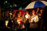 Candlelight walk for Kadian Harding in Shepherdstown, WV on 7/26/12