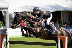 Hoogenraat Kim, (NED), Caesar<br /> Nederlands kampioenschap springen - Mierlo 2016<br /> © Hippo Foto - Dirk Caremans<br /> 21/04/16