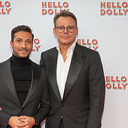 NLD/Rotterdam/20200308 - Premiere Hello Dolly, Leco van Zadelhof en partner Carlos Alberto
