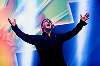Marc almond at Rewind Festival North 2021 the 80s festival , Capesthorne Hall, Macclesfield, England photo by Michael Palmer