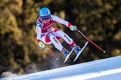 18.12.2018, Saslong, St. Christina, ITA, FIS Weltcup Ski Alpin, Abfahrt, Damen, im Bild Jasmine Flury (SUI) // Jasmine Flury of Switzerland in action during her run in the ladie's Downhill of FIS ski alpine world cup at the Saslong in St. Christina, Italy on 2018/12/18. EXPA Pictures © 2018, PhotoCredit: EXPA/ Johann Groder