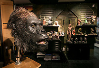 An animatronic head used in Zookeeper at StudioADI in Chatsworth, CA. March 11, 2014. Photo by David Sprague