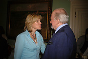 Santa Sebag-Montefiore and Claus von Bulow, Book launch of 'A Much Married Man' by Nicholas Coleridge. English Speaking Union. London. 4 May 2006. ONE TIME USE ONLY - DO NOT ARCHIVE  © Copyright Photograph by Dafydd Jones 66 Stockwell Park Rd. London SW9 0DA Tel 020 7733 0108 www.dafjones.com