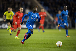 November 8, 2018 - Genk, BELGIUM - Genk's Dieumerci Ndongala pictured in action during a match between Belgian soccer team KRC Genk and Turkish club Besiktas, in Genk, Thursday 08 November 2018 on day four of the UEFA Europa League group stage, in group I. BELGA PHOTO JASPER JACOBS (Credit Image: © Jasper Jacobs/Belga via ZUMA Press)