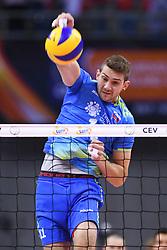 Danijel Koncilja of Slovenia during the CEV Volleyball European Championship game Poland - Slovenia on August 30, 2017 in Krakow, Poland. (Photo by Krzysztof Porebski / Press Focus)