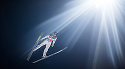 06.01.2015, Paul Ausserleitner Schanze, Bischofshofen, AUT, FIS Ski Sprung Weltcup, 63. Vierschanzentournee, Finale, im Bild Peter Prevc (SLO) // Peter Prevc of Slovenia during Final Jump of 63rd Four Hills <br /> Tournament of FIS Ski Jumping World Cup at the Paul Ausserleitner Schanze, Bischofshofen, Austria on 2015/01/06. EXPA Pictures © 2015, PhotoCredit: EXPA/ JFK