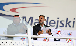 Wales manager Ryan Giggs in the stands before the Sky Bet Championship match at the Madejski Stadium, Reading.