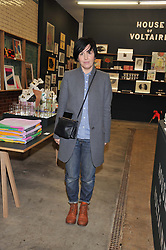 SHARLEEN SPITERI at the House of Voltaire pop up shop at 17A Adam's Row, London followed by a party at Sketch, Conduit Street, London on 20th November 2012.