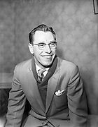 08/03/1959<br /> 03/08/1959<br /> 08 March 1959<br /> Sean Maguire (Belfast), Traditional Fiddler at 55 Griffith Avenue, Dublin.