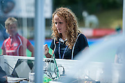 Magdalena Przybylska, the Tournament Officer for the Investec Hockey World League Semi Final 2013, the Quintin Hogg Memorial Sports Ground, University of Westminster, London, UK on 27 June 2013. Photo: Simon Parker