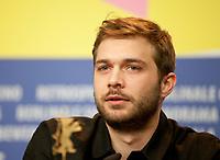 Actor Logann Antuofermo at the press conference for the film The Salt of Tears (Le Sel des Larmes) at the 70th Berlinale International Film Festival, on Saturday 22nd February 2020, Hotel Grand Hyatt, Berlin, Germany. Photo credit: Doreen Kennedy