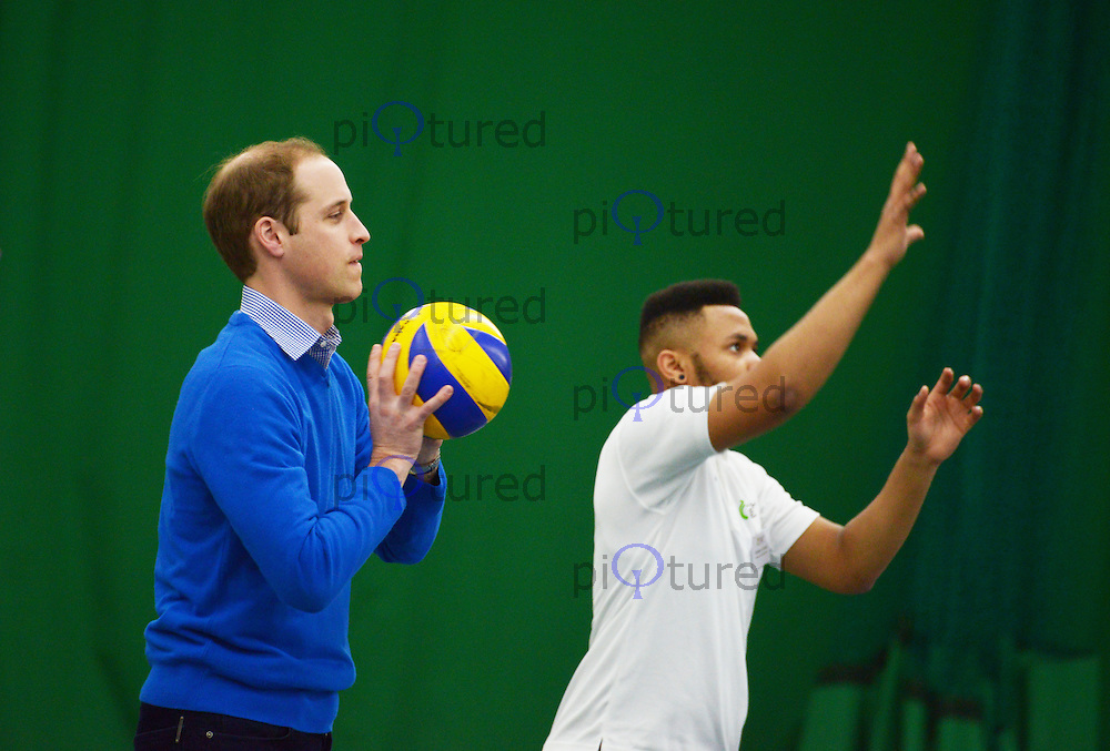Prince William Duke of Cambridge visits Coach Core Project, Westway Sports Centre, London UK, 04 December 2013, Photo by See Li