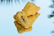 Sushi sandwich tempura