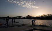 Caversham, Reading, Great Britain, Athletes prepare to boat to compete in the GBRowing Training Session, Water and Gym/Ergo, at the National Training Base, Berkshire, England.<br /> <br /> Wednesday  18/11/2015<br /> <br /> [Mandatory Credit; Peter Spurrier/Intersport-images]