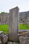 Broken Celtic Cross, Na Seacht Tempaill, The Seven Churches, Inishmore, Aran Islands