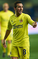 VILLAREAL, SPAIN - FEBRUARY 4: Santi Cazorla of Villarreal in action during the La Liga match between Villarreal CF and Levante UD at El Madrigal Stadium in Villarreal on Fabruary 4 2011. Levante won 0-1. (Photo by Xaume Olleros/SSP/DPPI)