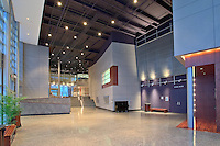 Interior Photography of Fine Arts building at Howard Community College