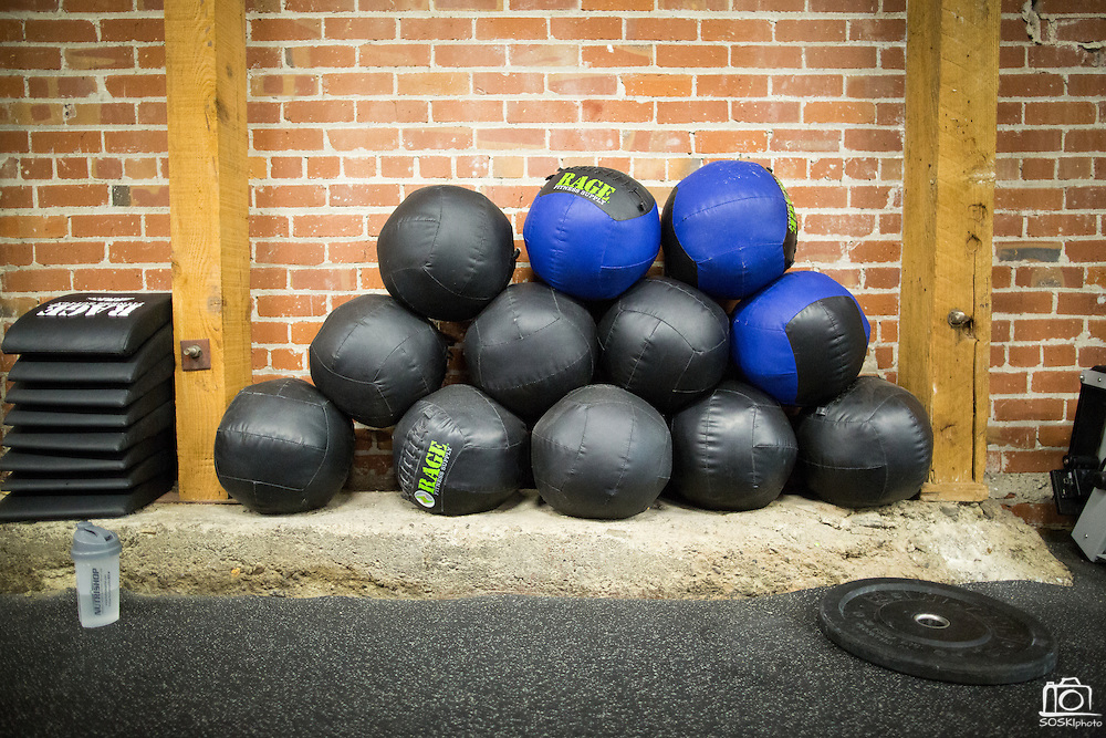 CrossFit program at ThirdSpace Fitness in San Jose, California, on July 6, 2015. (Stan Olszewski/SOSKIphoto for Content Magazine)