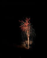 Montgomery Township Independence Day Fireworks. Image taken with a Nikon D850 camera and 105 mm f/1.4 lens (ISO 64, 105 mm, f/11, 8 sec)