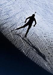 13.12.2014, Biathlonarena, Hochfilzen, AUT, E. ON IBU Weltcup, Staffel, Damen, im Bild Chaoqing Song (CHN) // during Womens Relay of E. ON IBU Biathlon World Cup at the Biathlonstadium in Hochfilzen, Austria on 2014/12/13. EXPA Pictures © 2014, PhotoCredit: EXPA/ JFK
