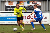 Alex Reid. Eastleigh FC 1-0 Stockport County FC. Vanarama National League. Silverlake Stadium. 20.02.21