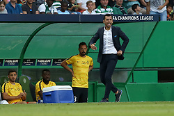 August 15, 2017 - Lisbon, Portugal - Steaua's head coach Nicolae Dica during the UEFA Champions League play-offs first leg football match between Sporting CP and FC Steaua Bucuresti at the Alvalade stadium in Lisbon, Portugal on August 15, 2017. (Credit Image: © Pedro Fiuza/NurPhoto via ZUMA Press)