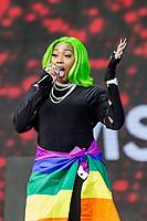 Ms Banks  at Birmingham Pride Birmingham West Midlands  United Kingdom 2021 photo by Chris Waynne